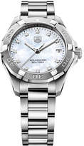Tag Heuer Ladies Aquaracer Diamond Stainless Steel Bracelet Watch WAY1313BA091