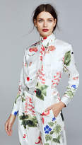 ADAM by Adam Lippes Silk Charmeuse Blouse with Scarf