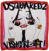 DSQUARED2 Square scarves