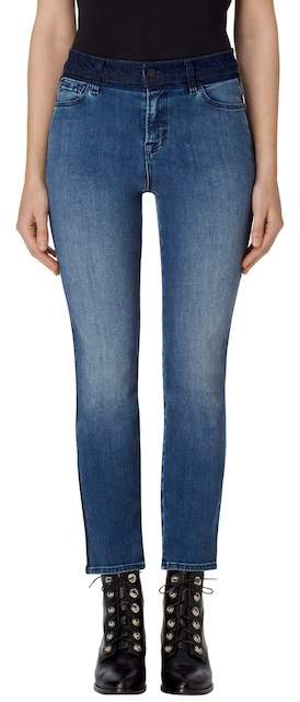 J Brand Ruby High Waist Crop Skinny Jeans
