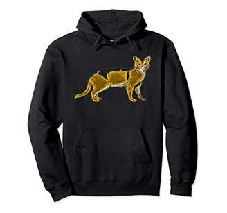 Breed Graphic 365 Cat Abyssinian Pullover Hoodie
