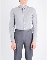 Canali Nailhead Regular-fit Cotton Shirt
