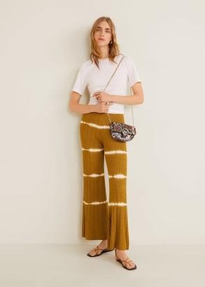 MANGO Chain crossbody belt bag brown - One size - Women