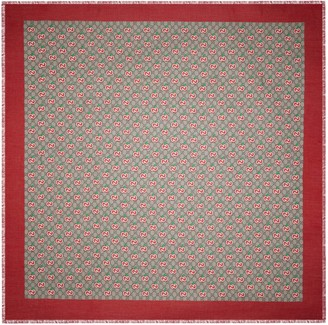 Gucci Chinese Valentine's Day modal silk shawl