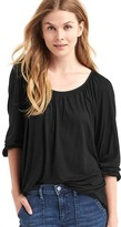 Gap Drapey shirred top