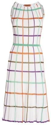 Missoni Panelled Sleeveless Midi Dress