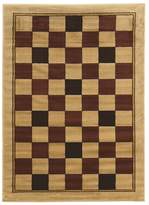 Linon Elegance Boxes Geometric Rug