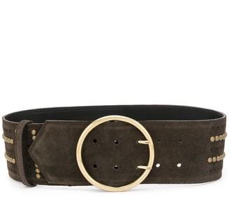 Etro Wide Studded Belt