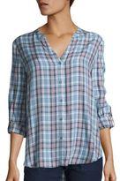 Soft Joie Dane Plaid Shirt