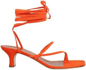 Paris Texas Lace Up Sandals