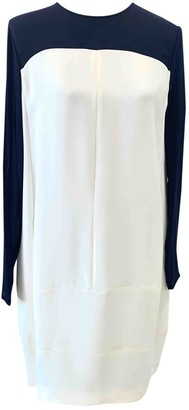 Celine White Silk Dresses