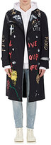 Resurrect by Night Men's Painted Belted Trench Coat