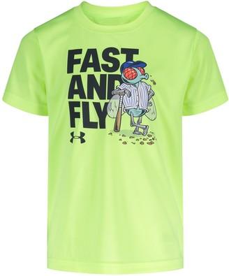 Under Armour Boys' Pre-School UA Fast & Fly Short Sleeve