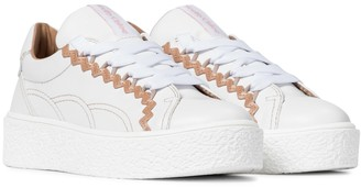 See by Chloe Sevy leather sneakers