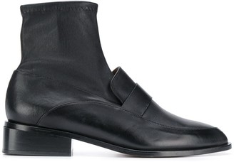 Clergerie Xana leather boots