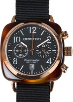 Briston Clubmaster chronograph date watch 14140.pra.t.1.nb