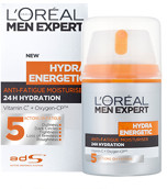 L'Oreal Men Expert Hydra Energetic Daily Anti-Fatigue Moisturising Lotion 50ml