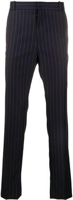 Balmain Pinstripe Tailored Trousers