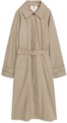 Arket Oversized Trench Coat
