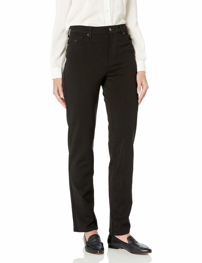 Thumbnail for your product : Gloria Vanderbilt Women's Amanda Ponte Knit Pant
