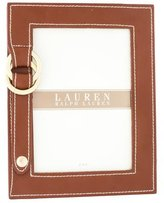 Ralph Lauren Brown Leather Picture Frame