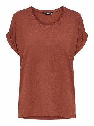 Only Women's Onlmoster S/s O-Neck Top Noos JRS T-Shirt