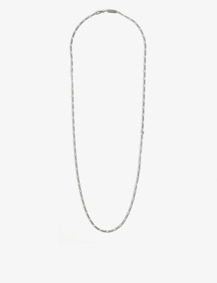Northskull Sterling silver chain necklace