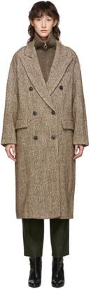 Etoile Isabel Marant Brown Habra Coat