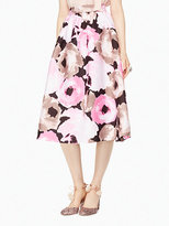 Kate Spade Full bloom lex skirt