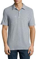 Billy Reid Solid Short-Sleeve Pique Polo Shirt