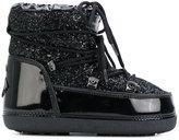 Chiara Ferragni glitter moon boot - women - Cotton/Wool/PVC/rubber - 37