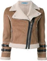 GUILD PRIME cropped biker jacket