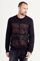 True Religion Buddha Mens Sweatshirt