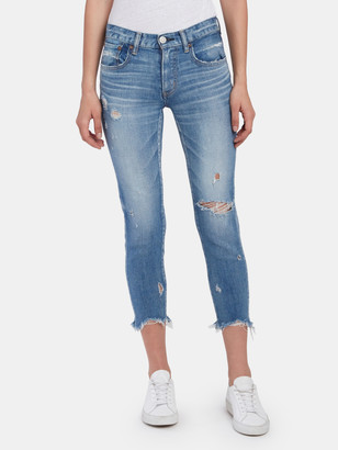Moussy Glendale Comfort Mid Rise Skinny Ankle Jeans