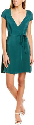 Amanda Uprichard Shelburne Silk Wrap Dress
