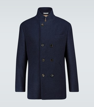 Brunello Cucinelli Short cashmere coat