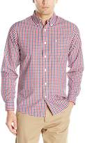 Dockers Long Sleeve Roadmap Gingham