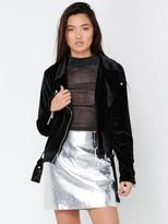 MinkPink Survivor Luxe Velvet Jacket