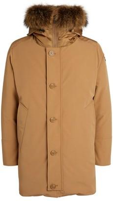 Moncler Marmot Fur-Trimmed Pola Parka Jacket