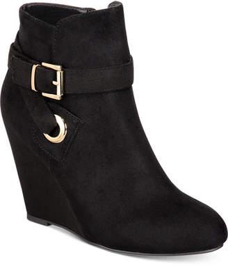 Zigi Keylie Wedge Booties Women Shoes