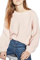 Topshop Open Back Sweater