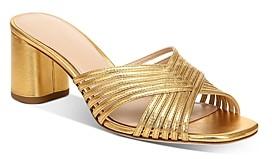 Via Spiga Women's Rafaela Slip On High-Heel Sandals