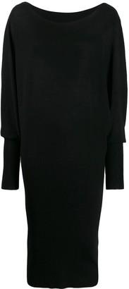P.A.R.O.S.H. knitted midi dress