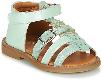 GBB CARETTE girls's Sandals in Green