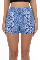 Gala Blue Printed Shorts