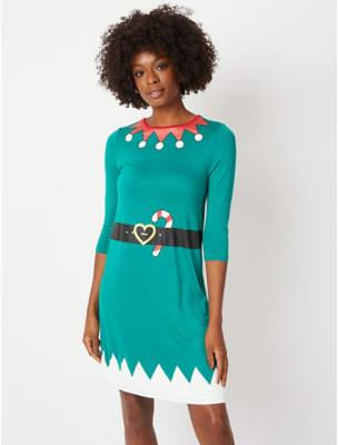 George Green Elf Christmas Dress