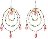 Christopher Kane Beaded triple-hoop earrings