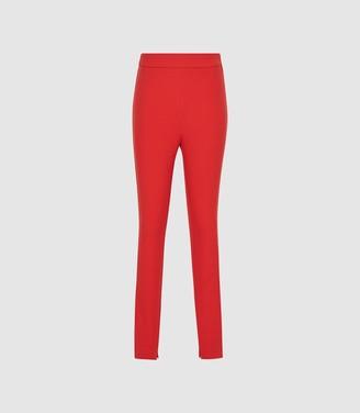 Reiss Tyne - Skinny Trousers in Bright Red