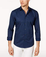 Alfani Men's Diamond Check Shirt, Created for Macy's