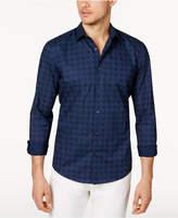 Alfani Men's Diamond Check Shirt, Only at Macy's